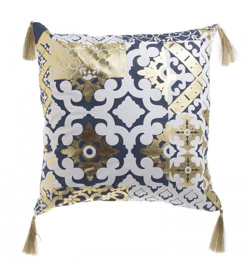 Perna decorativa BLUE/GOLD